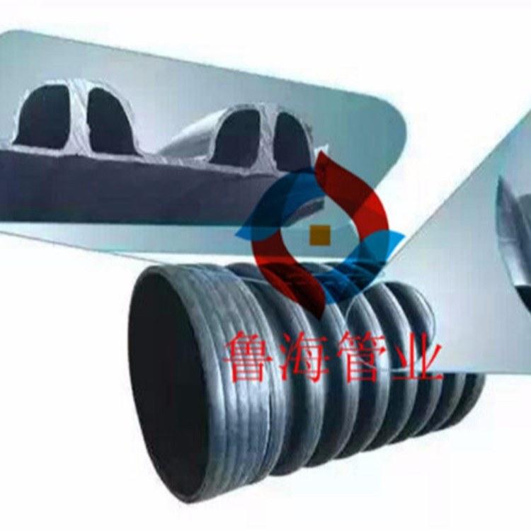 HDPE立筋增强缠绕波纹管、立筋管、内肋管、加筋管、HDPE加筋波纹管、排污管'.