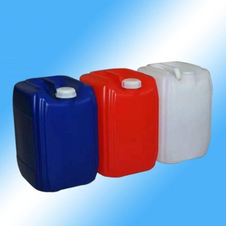欣越加厚堆码20L塑料桶 液体密封20KG化工桶生产厂家 带透气盖20公斤塑料桶