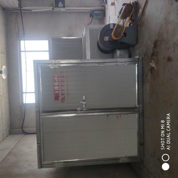 鸿运捷 高温烤漆房固化炉汽车烤漆房 喷塑烤箱 固化房喷塑工业环保烤箱