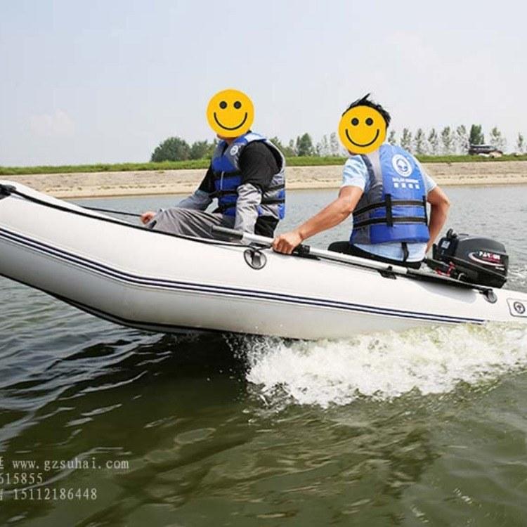 防汛救生艇,充气加厚硬底橡皮艇,铝合金冲锋舟