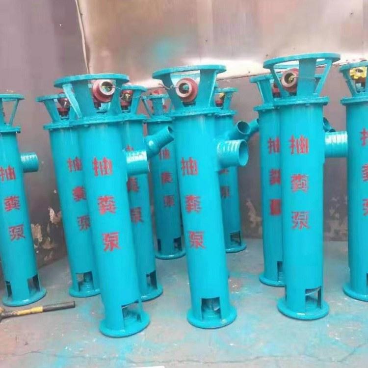 立式绞龙抽粪泵 化粪池吸粪机泥浆无堵塞带铰刀切割螺旋泵排污水泵 3寸1米泵