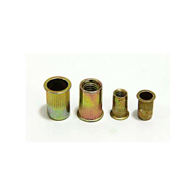 源头紧固件厂家直销现货供应拉铆螺母 304不锈钢/镀锌拉铆螺母/