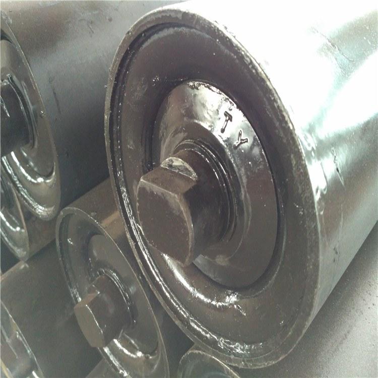甘肃天水按客户要求  特殊定制 108*1400塑料托辊  塑料平行上托辊 欢迎来电