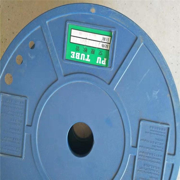 德利深蓝色PU管抗老化加强型吸污车用PU管防静电聚氨酯软管