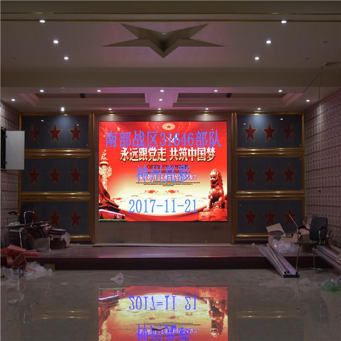 饭店LED显示屏安装价格 深圳大屏幕厂家