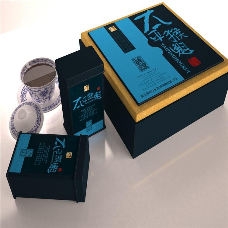 高档茶叶礼盒定制 壹志包装精英设计团队,专业为企业活动定制高端包装集礼盒设计印刷制作服务