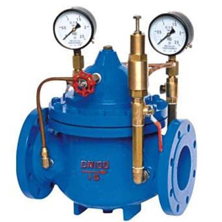 供应减压阀 水力控制阀 YX741X流量控制阀  厂家直销  可调式减压