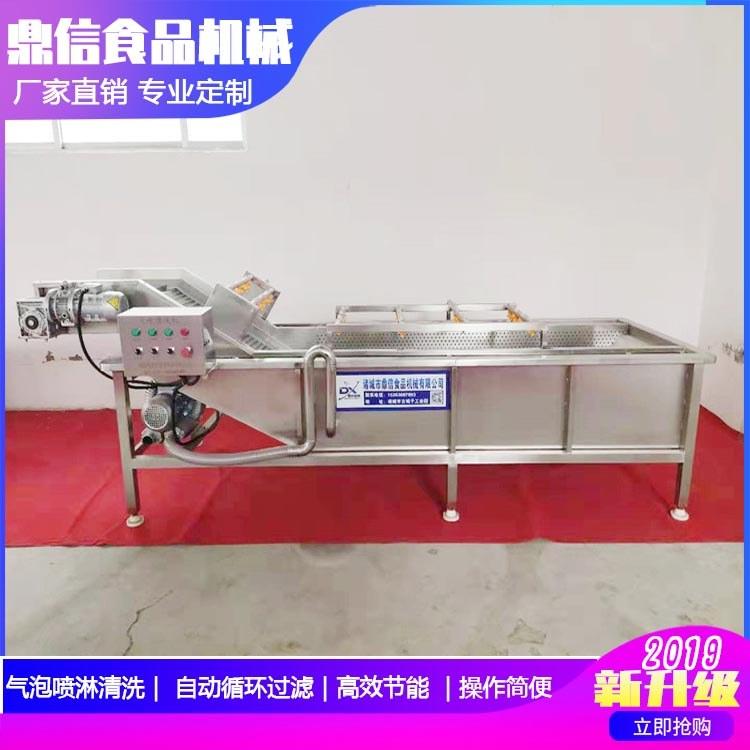 杨梅气泡清洗机 杨梅清洗设备 山东气泡式水果清洗机厂家