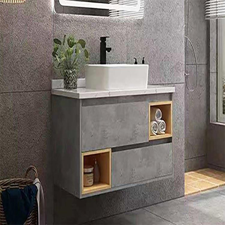汇晶 全铝家具铝合金整体橱柜定制 简易厨房吊柜厨具柜收纳柜厂家直销