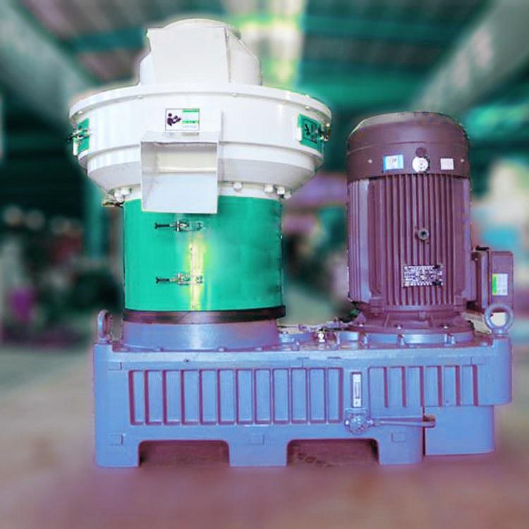 辽宁操作简单的秸秆颗粒机 绿尚双立式环模580秸秆颗粒机价格