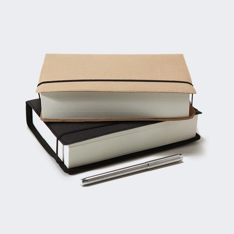 成都仿皮创意商务笔记本印刷 定做 生产厂家彩美印务