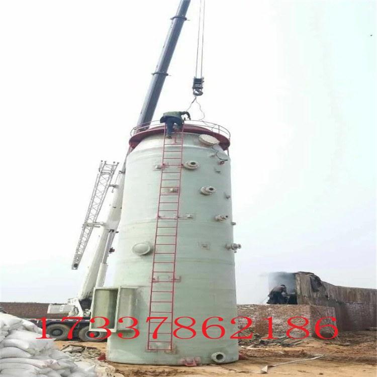 河北 衡水 脱硫塔厂家 除尘塔 玻璃钢脱硫塔 喷淋塔 窑厂专用玻璃钢塔