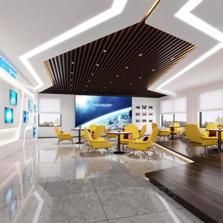 杭州余杭loft办公室装修图片选择博妍装饰工期短-质量优
