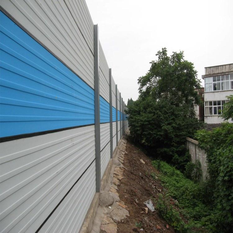 方海公路隔音墙 金属板百叶孔折弯 公路隔音墙 厂家