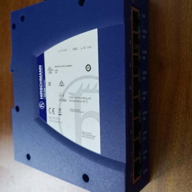 赫斯曼交换机SPIDER II 8TX EEC 赫思曼SPIDER系列 8口宽温交换机 赫斯曼