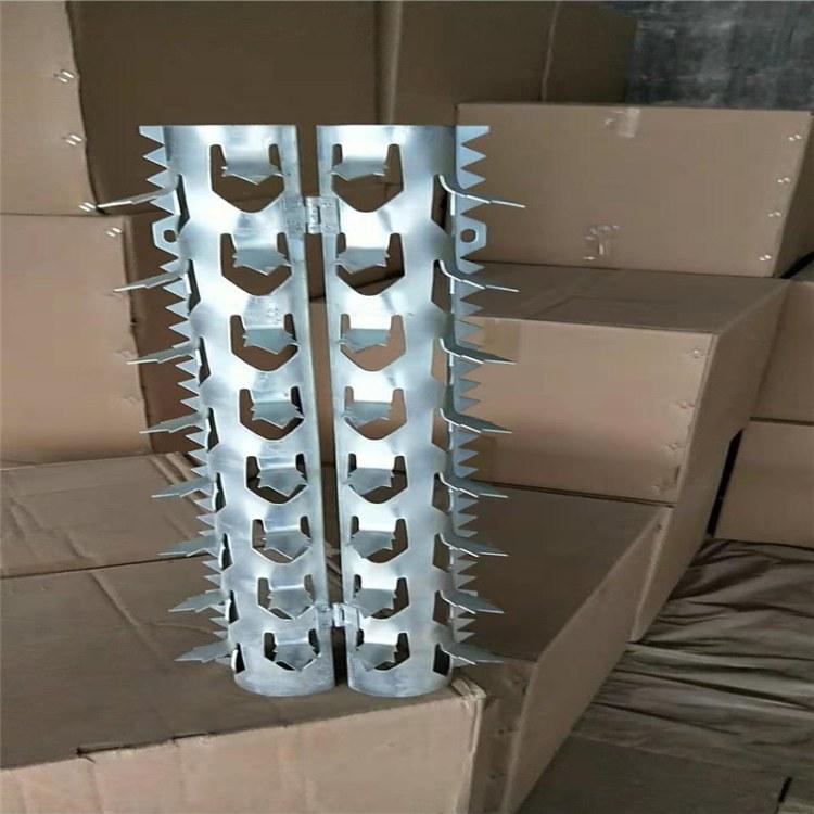 小区墙面钉 防盗刺钉 围墙防护钉 锋利厂家可加工定制可议价