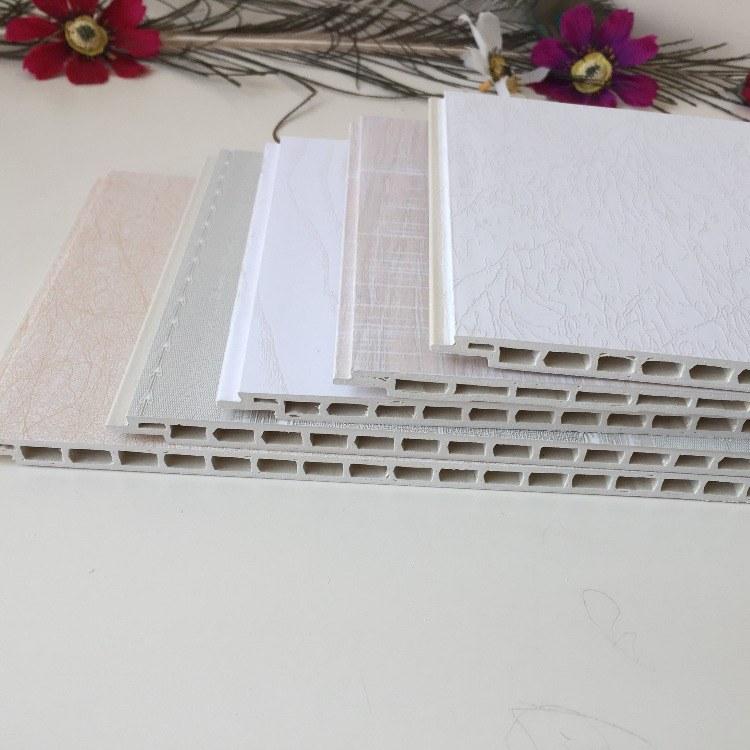 厂家直销 竹木纤维集成墙板300平缝V缝 快装护墙板批发