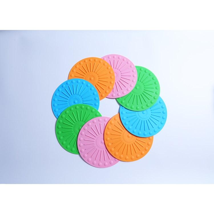 硅胶隔热垫食品级防水耐热瑞奇想直销防滑加厚防污易清洁圆形锅垫