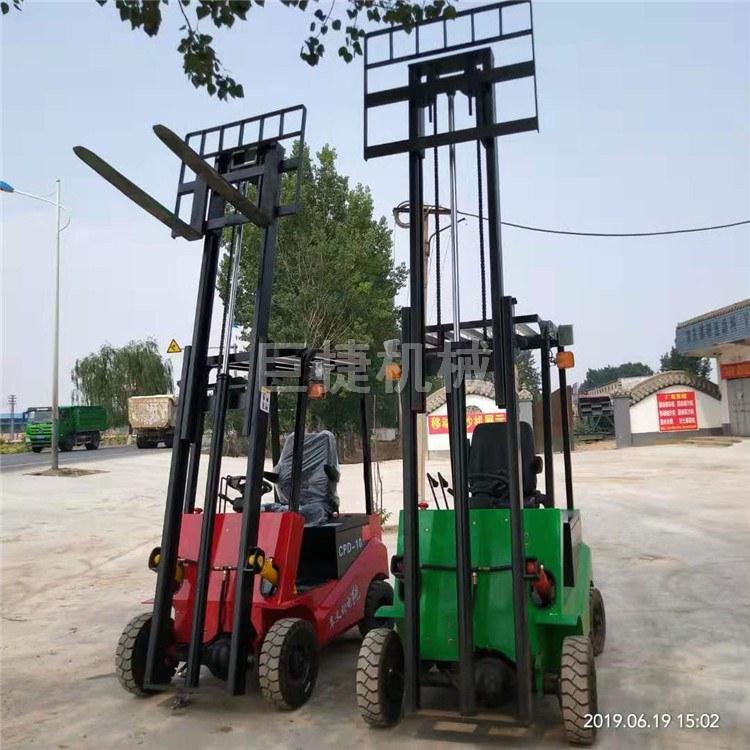 电动装卸车全电动升降搬运车四支点座驾式电瓶叉车