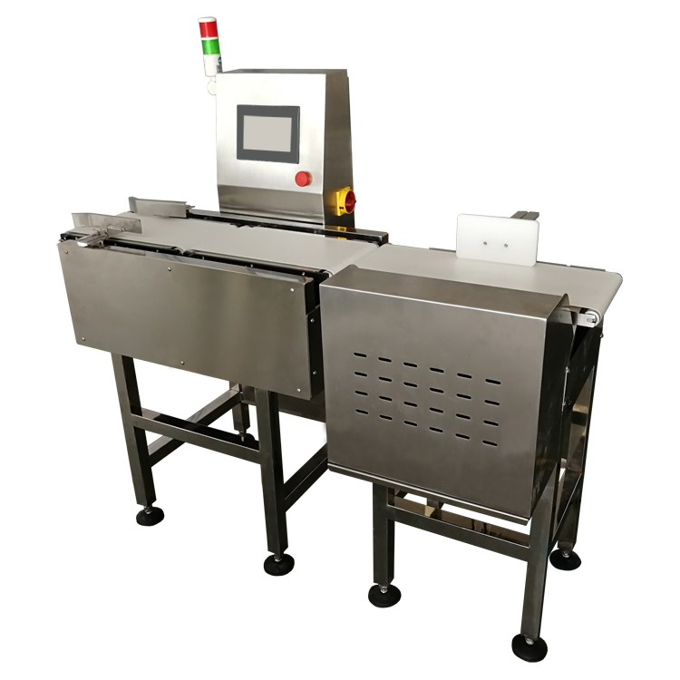 友盾饼干重量检测机面包袋装烘焙食品重量检测机在线称重设备