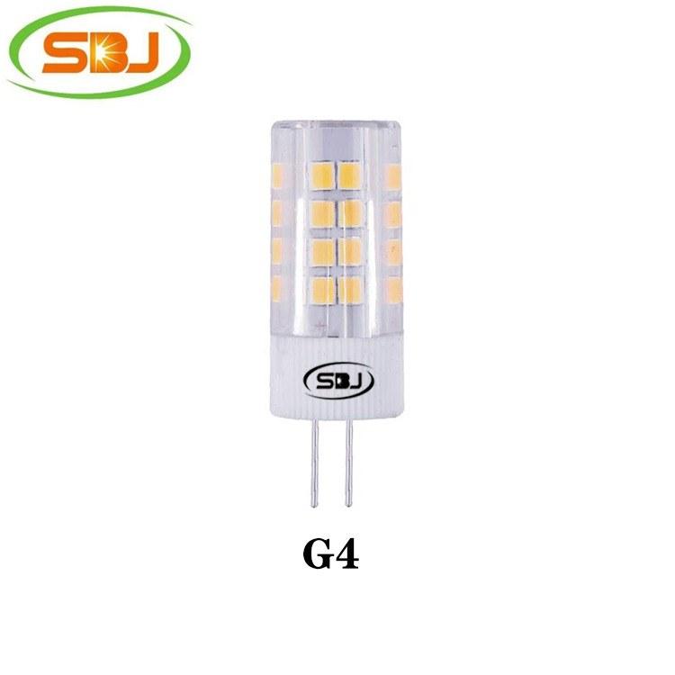 G4 led灯 2835 51珠 5W 400lm  高流明,工厂直销 G9 E14 短款
