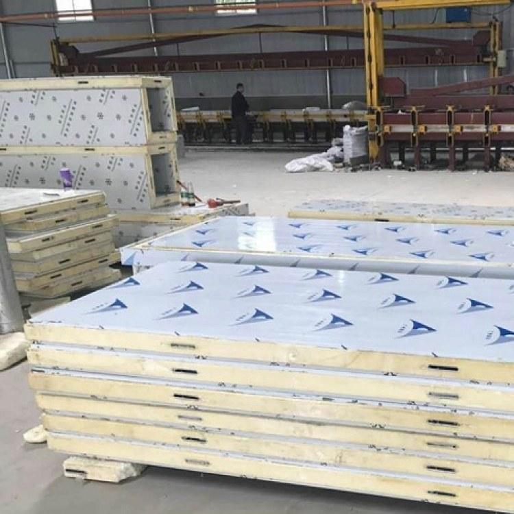 四川供应聚氨酯冻库板 聚氨酯冻库板  聚氨脂冷库保温板  保鲜冷藏设备  苏川彩钢净化