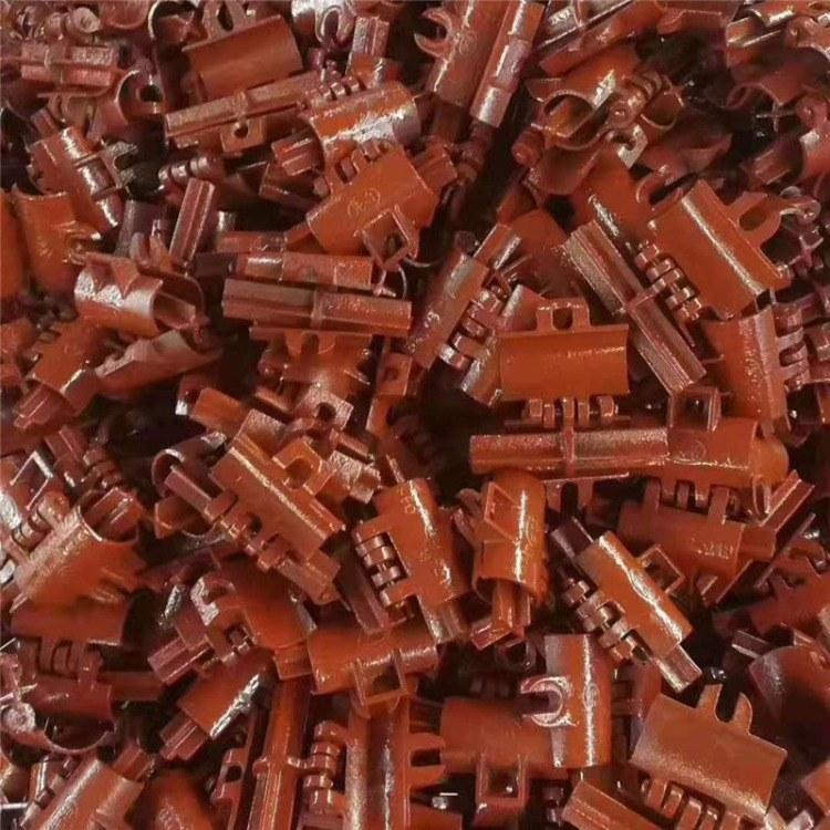 脚手架扣件 建筑扣件厂家直销2斤 2.2斤十字扣件 对接扣件 转向扣