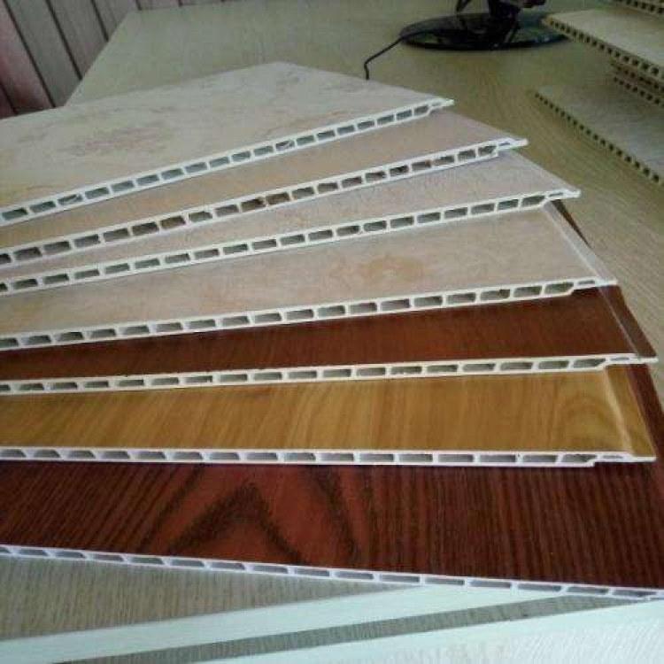 竹木纤维快装集成墙面PVC塑料墙板护墙板吊顶