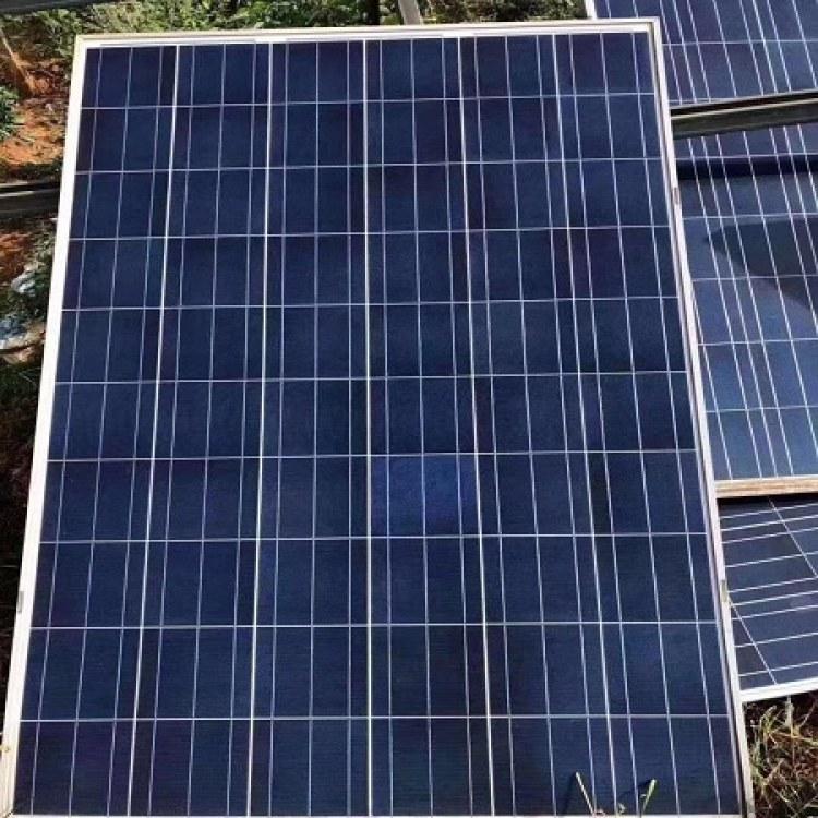 采购拆卸太阳能电池板 家用屋顶组件回收 B级光伏板回收 上门看货报价|聚纳光伏