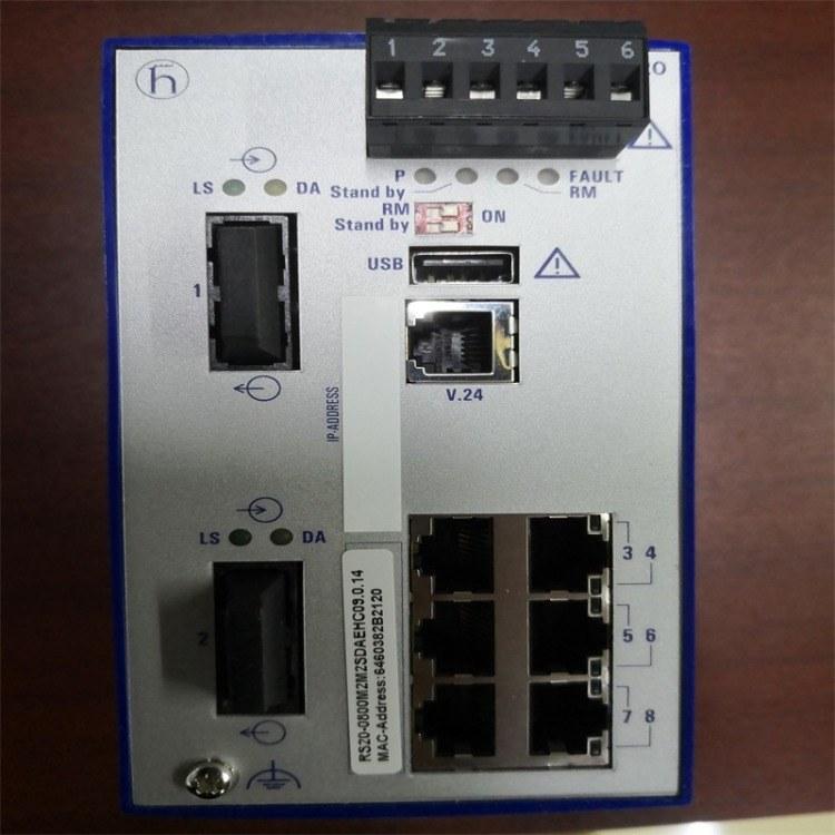 赫斯曼交换机  工业以太网交换机 RS20-0800M2M2SDAEHC 赫斯曼 厦门