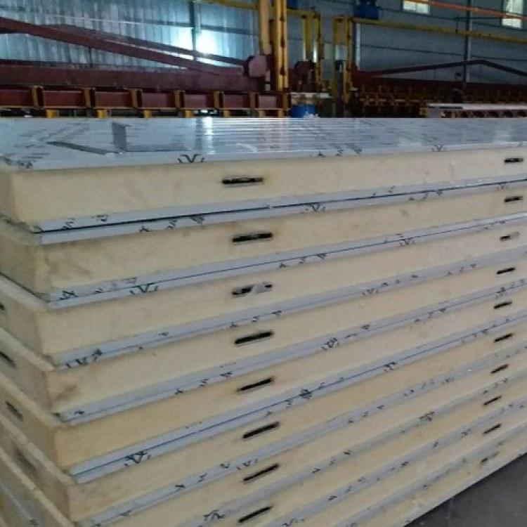 成都聚氨酯板廠家 蘇川彩鋼凈化 熱銷聚氨酯凍庫板 設計安裝