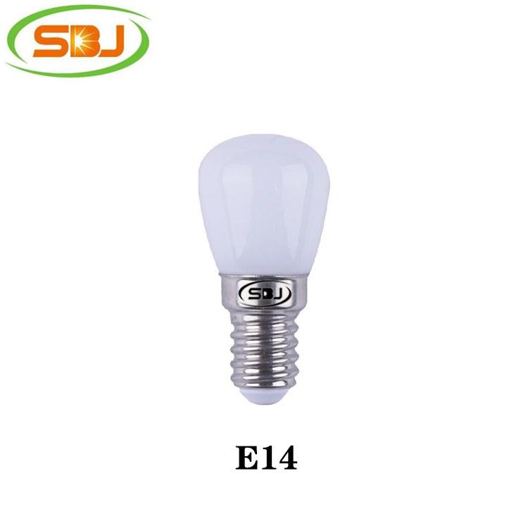 E14 红/蓝/绿/白/透明 led冰箱泡 2835 6珠 3W 190lm  高流明,工厂直销