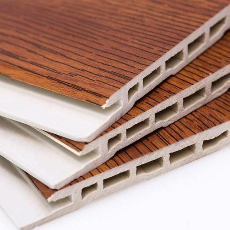厂家直销 室内无缝护墙板 零甲醛快装板 300竹木纤维集成墙板