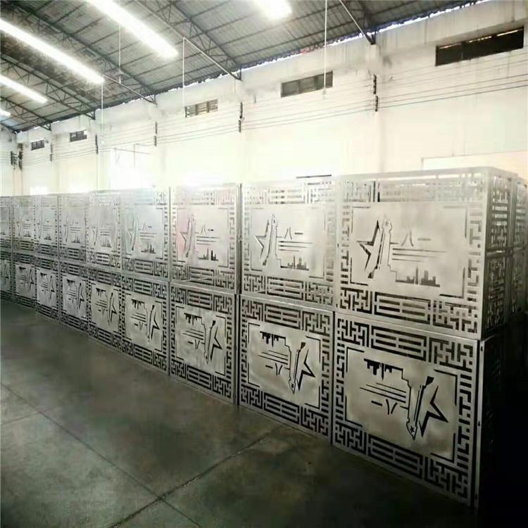 促销街道改造外墙防锈铝合金百叶空调罩,铝合金雕花空调罩铝城制造