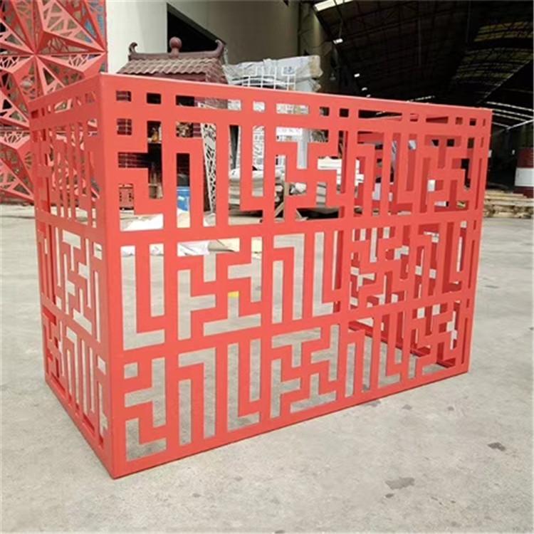 雕花工艺空调外机不锈钢壳子,室外空调罩大型厂家