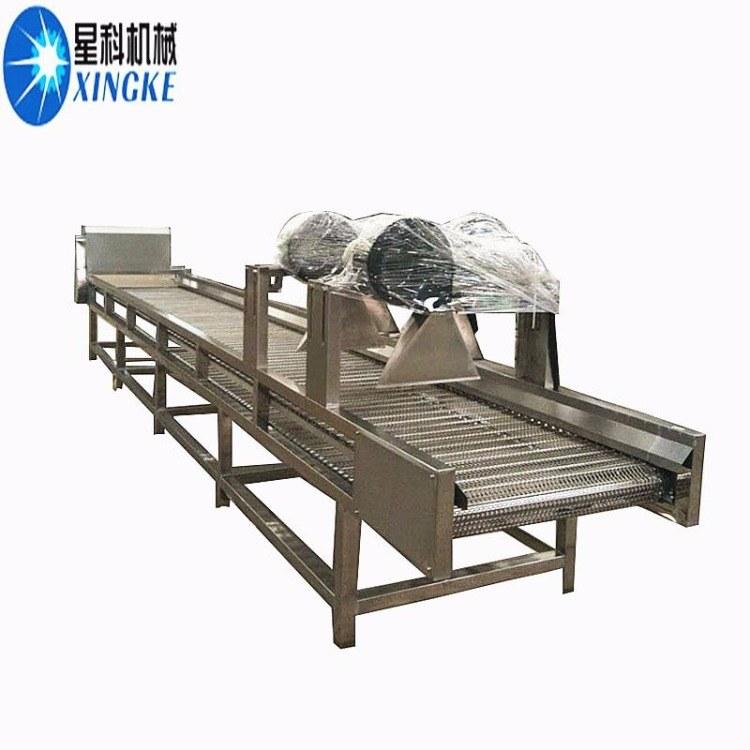 星科除水风干机 蔬菜常温振动式干燥机 袋子表面除水机