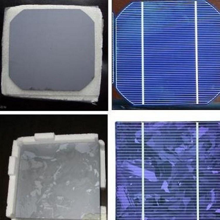 厂家回收太阳能单晶硅片 回收太阳能电池片 量大价高|昆山聚纳光伏