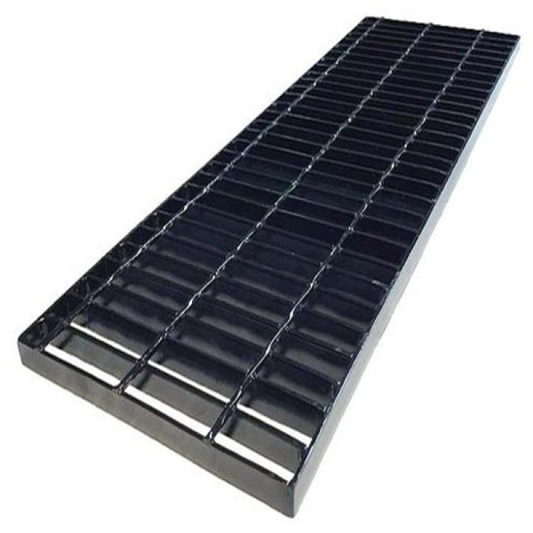 沧州钢格栅厂家 热镀锌排水沟盖板 插接异形钢格板 平台格栅板