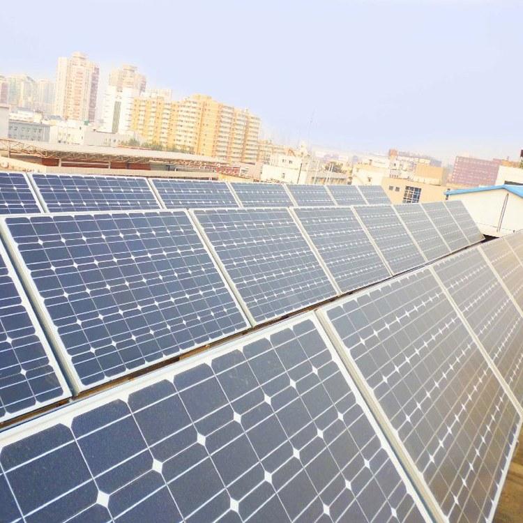 太阳能光伏组件回收 旧太阳能电池板 库存光伏处理