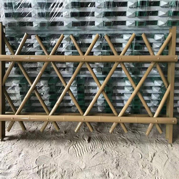 广州世腾 厂家直销 市政园林防护网 不锈钢仿竹护栏 儿童护栏围栏