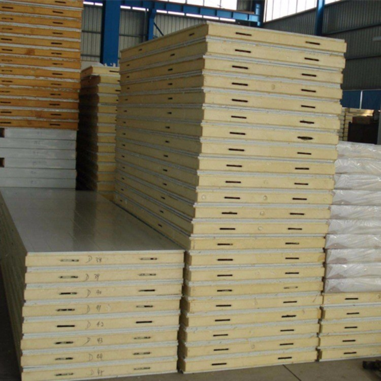 成都直销冰冻冷冻库保温板环保聚氨酯板厂家 苏川彩钢净化 低温冷库保温材料