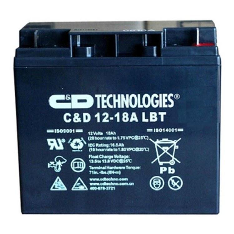 大力神蓄电池12V18AH          免维护蓄电池