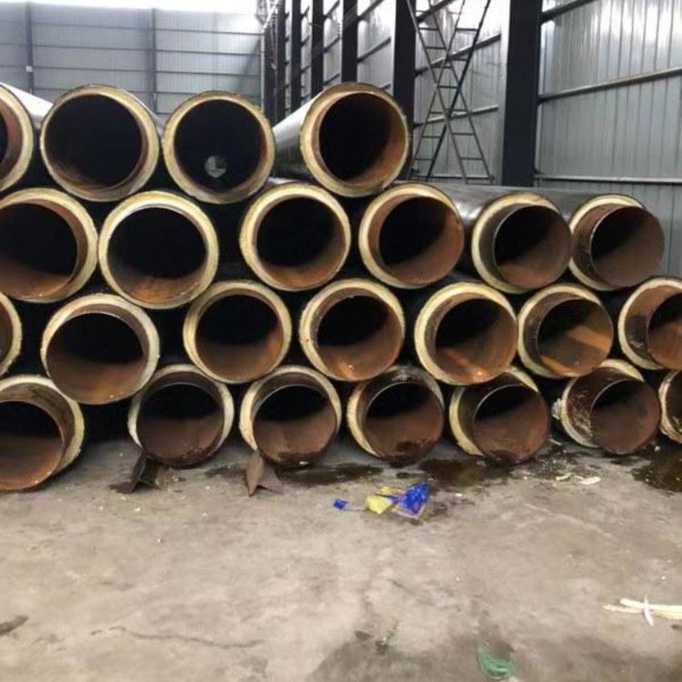 厂家供应 聚氨酯保温管 预制聚氨酯直埋保温管 规格齐全