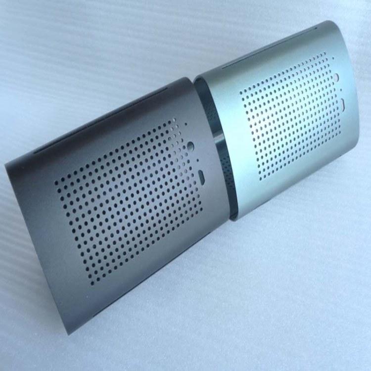 铝型材外壳 空气净化器外壳模具 挤压铝型材壳体加工定制