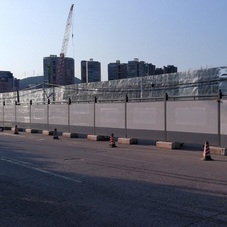 深圳工地C2围挡厂家 C类新型钢结构围挡 旭东钢构装配式C型围蔽