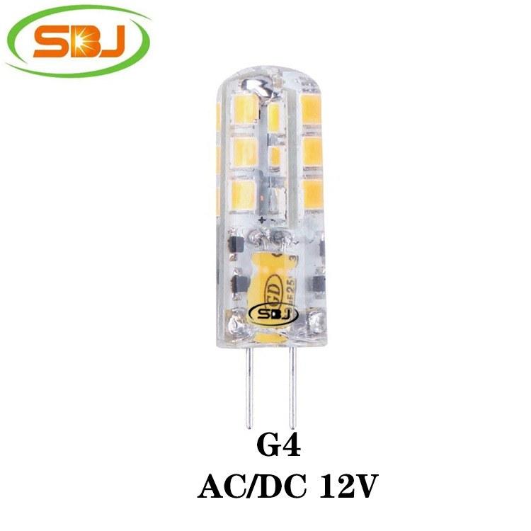 G4 led灯 2835 24珠 2W 160lm  12V 硅胶 高流明,工厂直销