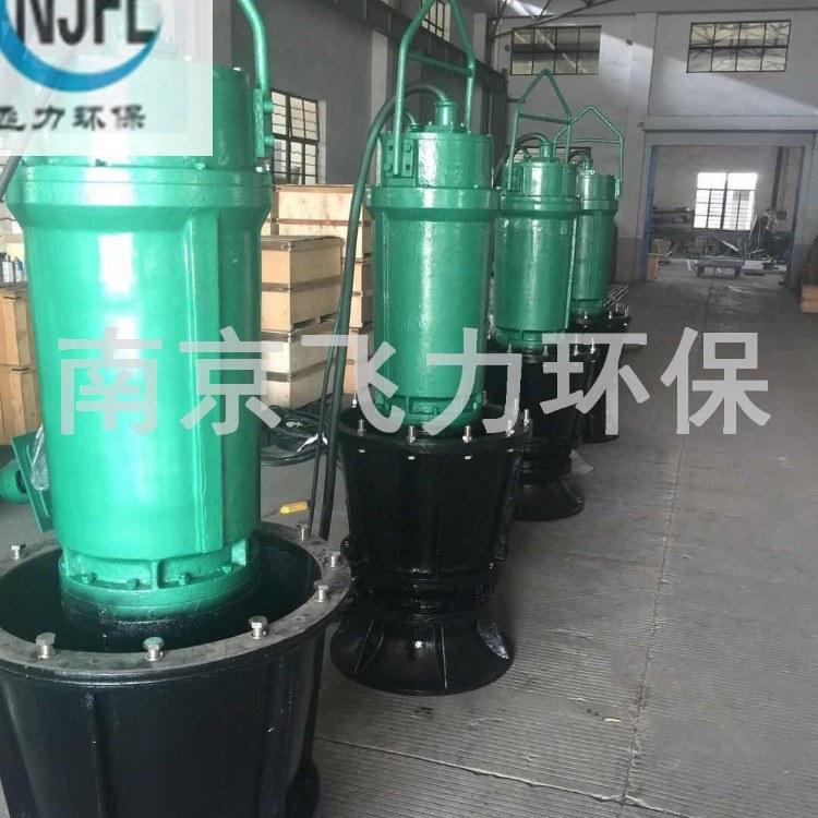 南京飞力环保销售供应大流量轴流泵ZQB型潜水轴流泵