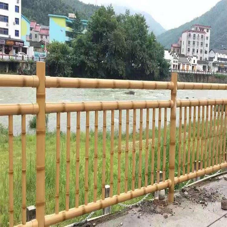 广州世腾 仿竹护栏 新农村建设围栏 街道围栏 不锈钢仿竹护栏