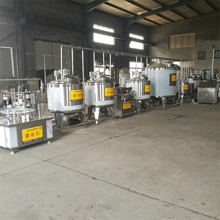 新疆酸奶加工设备 小型酸奶生产线