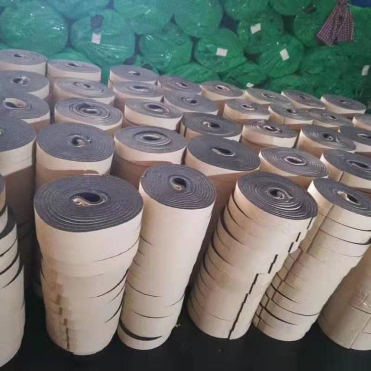 批发 B1级橡塑胶条空调法兰密封条2mm厚橡塑胶条厂家